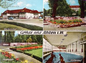 Mehrbildpostkarte von Ahlen